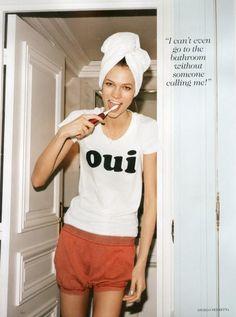 Vogue US, May 2012. #vogue #oui