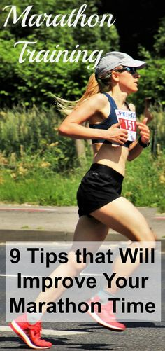 Are you ready for marathon training? Do you want to get faster? Here are 9 tips that I used that will improve your marathon time. via country running marathons training World tips running equipment accessories Running Half Marathons, Half Marathon Training Plan, Marathon Tips, First Marathon, Marathon Running, Ultra Marathon, Running Humor, Running Workouts, Running Tips