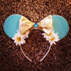 Princess jasmine mickey mouse ears  by Mousehouseboutique on Etsy, $25.00