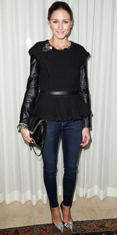 Look of the Day: February 3, 2013 - Olivia Palermo : InStyle.com