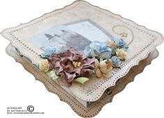 Kottens corner: Maja Design DT work for Maja Design. I have used the Vintage Summer Basics collection. Altered Boxes, Altered Art, Martha Stewart Punches, Mixed Media Art, Card Stock, Shabby Chic, Paper Crafts, House Design, Crafty