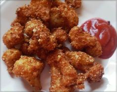 Deep Fried Cauliflower Florets (Low Carb)   Heart of a Country Home