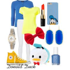 A fashion look from March 2016 featuring yellow top, Dorothy Perkins and white jeans. Browse and shop related looks. Disney Tsum Tsum, Yellow Top, Issey Miyake, Disney Style, Frame Denim, Stretch Denim, Essie, Blue Tops, Fashion Looks