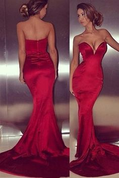 Long prom Dress Sexy dress Charming Mermaid Long prom Dress Evening Dress E7