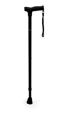 3350131 Walking cane Vitility. Black. Also available in blue, anthracite, green, red and bronze.