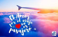 #Amor es #Despegar y compartir la pasión por  #VIAJAR... ¡Feliz #DíaDeLosEnamorados!