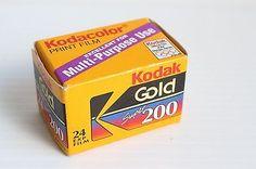 1997 Vintage KODAK GOLD Super 200 24 exposure film - NIB, sealed
