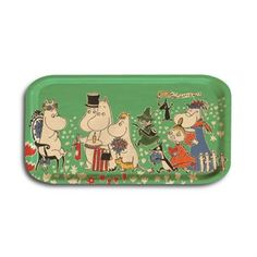 Birthday big tray with original design of Moomin by Tove Jansson is part of Big Tray, Large Tray, Tove Jansson, Scandinavian Interior Design, Serving Utensils, Moomin, Home Accessories, Lunch Box, Happy Birthday