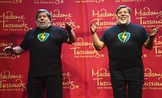 Steve Wozniak's Madame Tussauds Wax Figure Revealed At Silicon Valley Comic Con