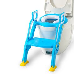 34.04$  Watch now - Enfant Toilettes Baby Toilet Seat Child Potty Folding Toilet Trainer Seat Chair Step With Adjustable Ladder Children Potty Seat  #magazineonline