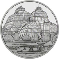 10 Euro Silber Schloß Schönbrunn PP