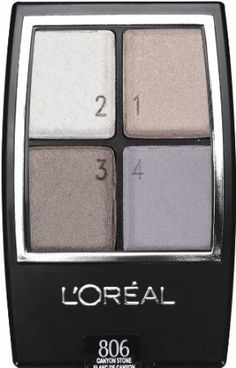 Loreal Wear Infinite Eye Shadow Quad Canyon Stone 806 3 pack >>> Check out this great product.