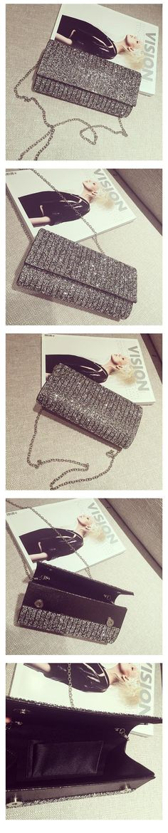 Glitter Evening Bag / Clutch Price:    【Size】20 x 13 x 5 cm  【Color】As Shown