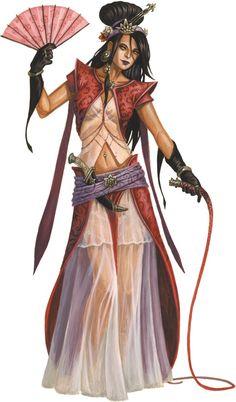 A transgendered slave trader from far fabled Xanadu.
