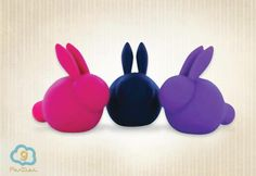 Love Bunnies!  Love Bunnies are collectable pocket mini bullet massagers with super cute looks and powerful vibrating ears that will leave you blushing! They are made of skin-safe medical grade silicone, are waterproof, very quiet and best of all… they come with a cute little adoption certificate for you to fill out!