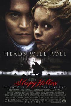 Johnny Depp Sleepy Hollow Movie Reproduction Poster