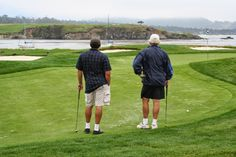 Green-in-reg on #17 at Pebble Beach and can't even seen the cup. Good luck with that one, Jack (Noonan!)