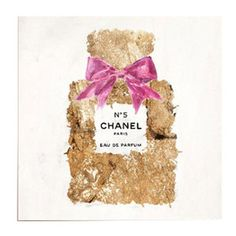 Chanel No. 5 Canvas Print, Oliver Gal