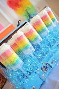 Maddycakes Muse: My Little Pony Rainbow Birthday Party