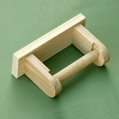 simple oak toilet roll holder - Diy Toilettenpapierhalter Stand