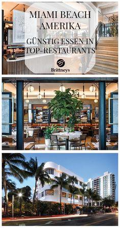 MIAMI BEACH: GÜNSTIG ESSEN IN TOP-RESTAURANTS #Miami #Beach #MiamiBeach #Restaurant #Florida #Amerika #USA