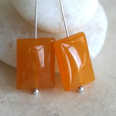 Agate+Pillowed+Flat+Rectangle+Beads+by+funkyprettybeads+on+Etsy,+$5.50