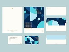 IMM Branding Stationery corporate identity letterhead business card enveloppe wcc pattern shapes minimalistic graphic design More brand goodies!