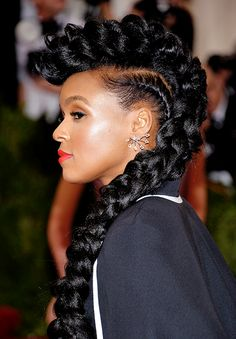 Janelle @ her best✨The Best Beauty at the 2015 Met Ball