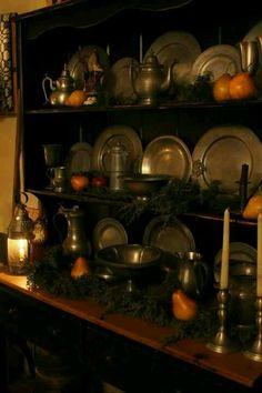 Karen Gerhardt photo~porringer dish turned sideways (middle shelf)
