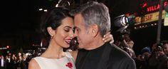George Clooney and Amal Alamuddin | Pictures | POPSUGAR Celebrity
