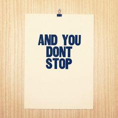 Keep on.