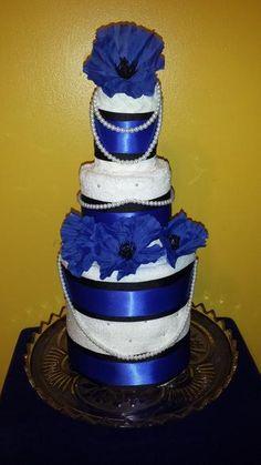 Bridal Towel Cake - Baby Mia Creations | Scott's Marketplace