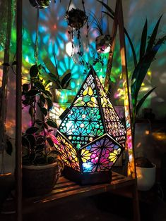 beautiful lamp for a meditation space Star Lamp, Hippy Room, Wood Home Decor, Zen Home Decor, Hippie Home Decor, Fairytale Home Decor, Hippie House, Home Decor Lights, Unique Home Decor