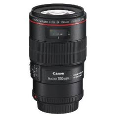 Canon EF 100mm f/2.8L IS USM 1-to-1 Macro Lens for Canon Digital SLR Cameras  This is an awesome lens !