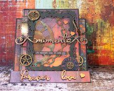 Jorunns fristed: Maskulint Valentines Kort. Valentine's Day, Tim Holtz, Divas, Valentines, Valentine's Day Diy, Valentine's Day Diy, Valentines Day, Valentine Words