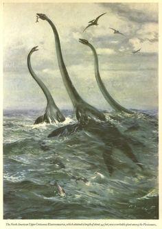 ElasmosaurusbyZdeněk Burian