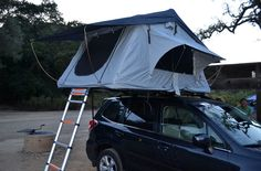 Roof Top Camping Tent with stargazing for car top, Jeep, Rover, SUV, truck bed camping trailer top and more!