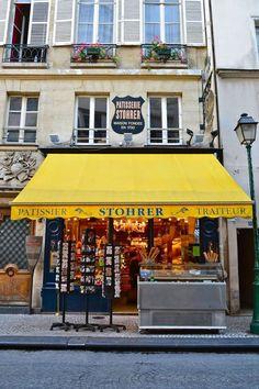 Stohrer Patisserie, 51 rue Montorgueil, Paris 2e.