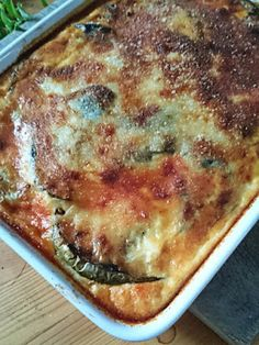 Lasagna, Quiche, Low Carb, Cooking, Breakfast, Ethnic Recipes, Food, Kitchen, Morning Coffee