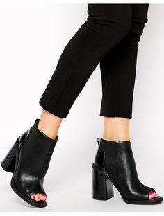 ASOS EXIT Peep Toe Chelsea Ankle Boots - Black http://sellektor.com/products/asos-exit-peep-toe-chelsea-ankle-boots-black-2615bd4b-8ea6-456d-b6c8-6974cd5c84c5