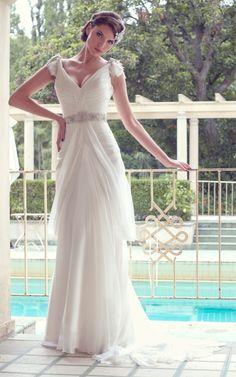 KAREN WILLIS HOLMES - 'Vanessa' wedding gown