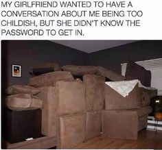 Couch fort