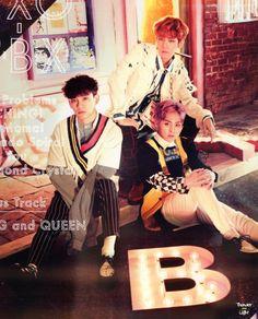 EXO-CBX - 170525 'Girls' album contents photo - [SCAN][HQ]  Credit: Thunder Light. Hyun Kim, Kim Min Seok, Exo 2017, Photo Scan, Exo Group, Exo Official, Girls Album, Exo Xiumin, Do Kyung Soo