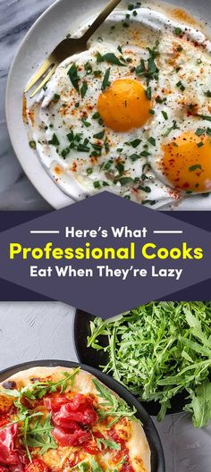 19 Quick And Easy Dinners Pro Chefs Eat When They& Feeling Lazy 30 Min Meals, Quick Easy Meals, Easy Dinner Recipes, Easy Dinners, Easy Recipes, Chef Recipes, Cooking Recipes, Healthy Recipes, Cooking Hacks