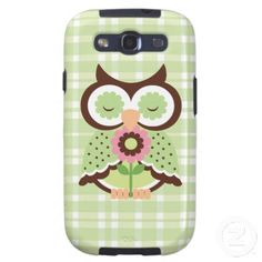 Cartoon Owl Samsung GalaxyS3 Vibe Case Galaxy S3 Cover