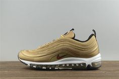 newest 1e2bd 3f8cc Nike Air Max 97 OG QS 'Metallic Gold' 884421 700 Nike Air Max,