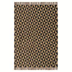 La Redoute - Tapis frangé motif géométrique  (120X170) 139 -  (160X230) 259 -  (200X290) 359 -
