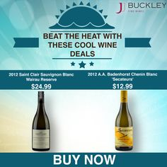 Beat the Heat Wine Deals
