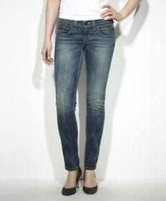 Levi's jeans demi curve low rise skinny