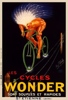 Cycles Wonder Bicycle Poster